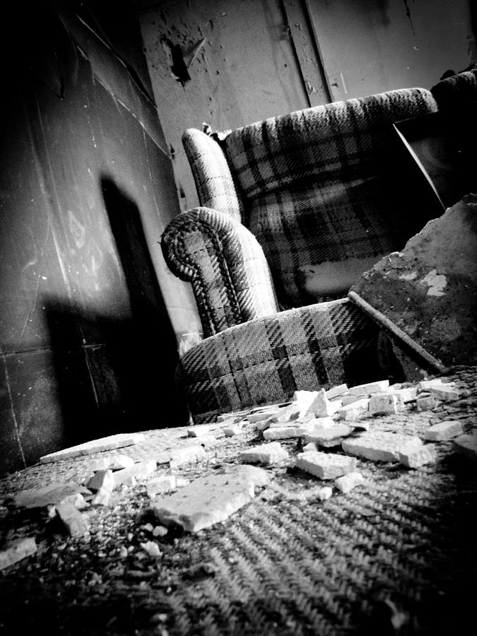 Abandoned Photograph - Come Sit For A Spell by Jessica Brawley
