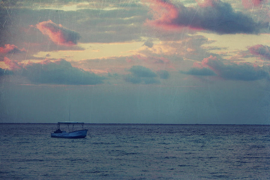 Boat Photograph - Come With Me My Love by Laurie Search
