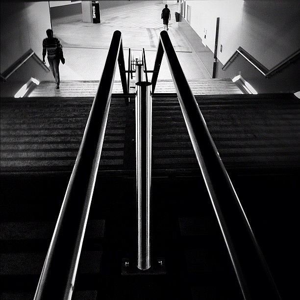 Noir Photograph - Coming Going by Robbert Ter Weijden