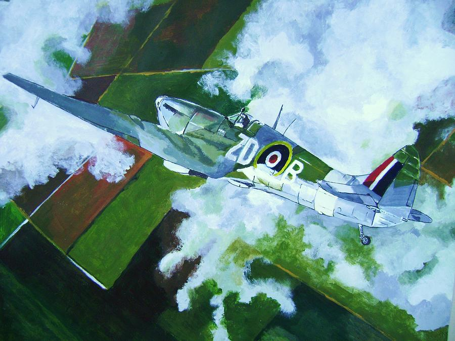 Wwii Painting - Coming Home by Terry Gill