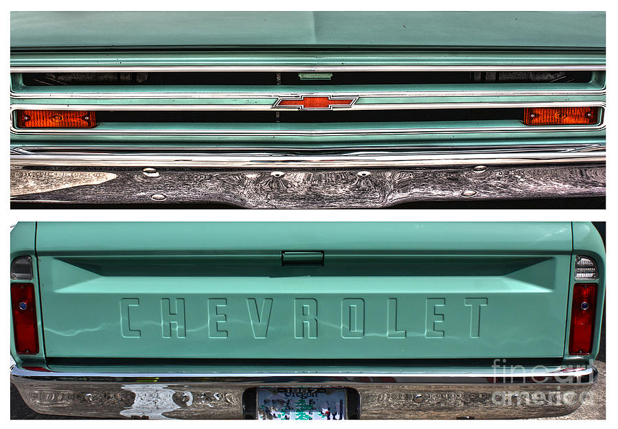 Chevrolet Photograph - Coming Or Going--still A Chevy by David Bearden