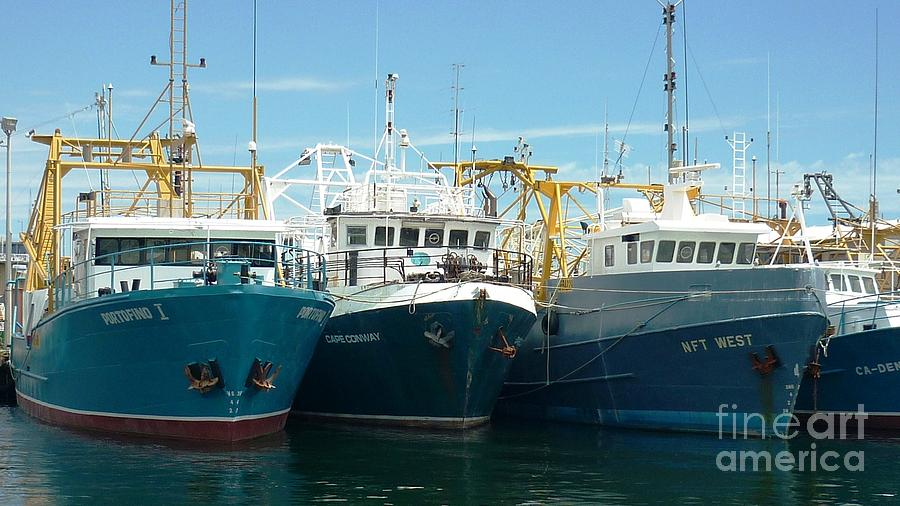 Commercial fishing boats photograph by therese alcorn for Commercial fishing boats for sale by owner
