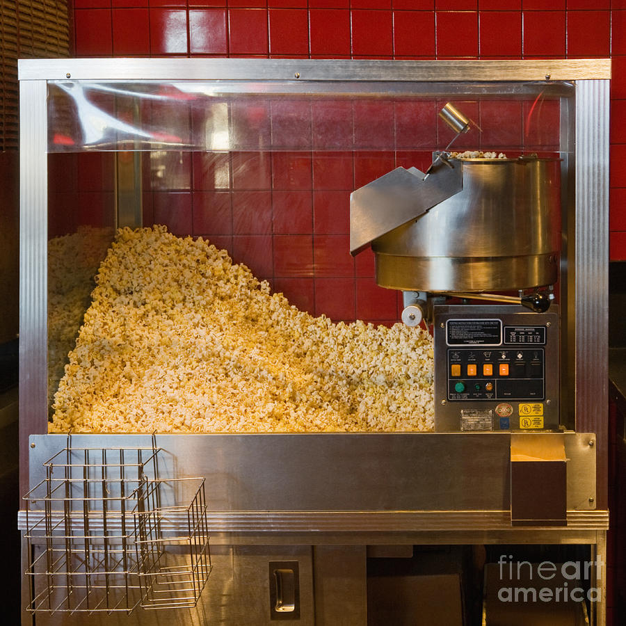 abundance photograph commercial popcorn machine by andersen ross - Popcorn Machine For Sale