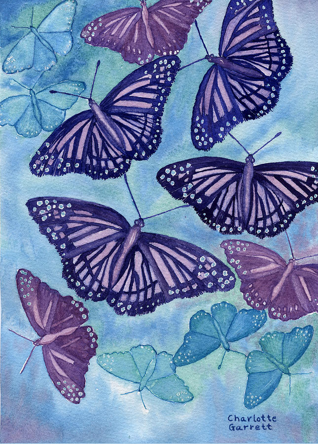 Communication Butterfly by Charlotte Garrett