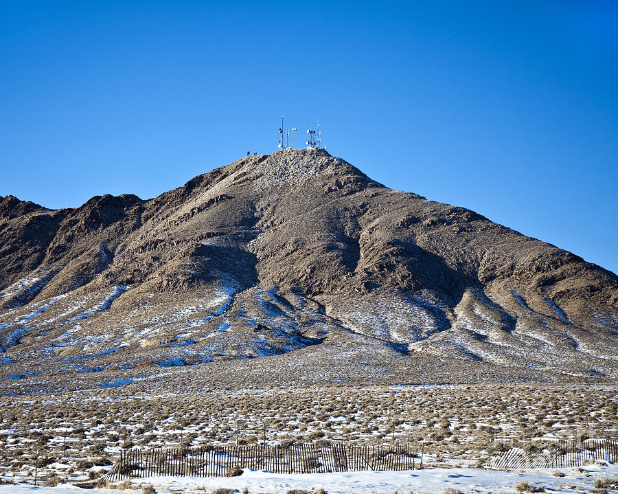 Cellphones Photograph - Communications Tower by David Buffington
