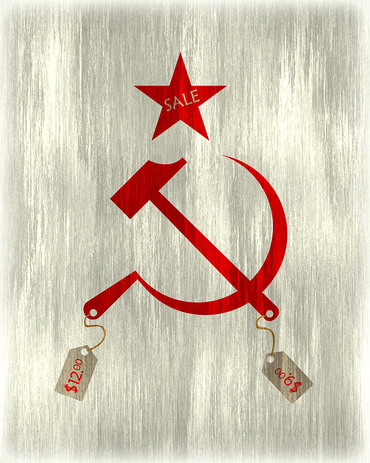 Communism Digital Art - Communism Vs. Capitalism by Bojan Bundalo