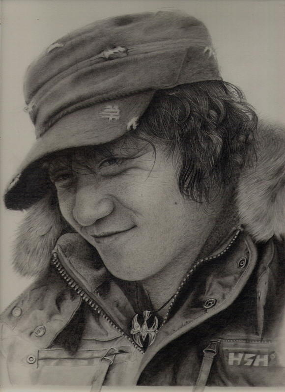 Pencil Drawing Drawing - Companion by Sucheol Kong