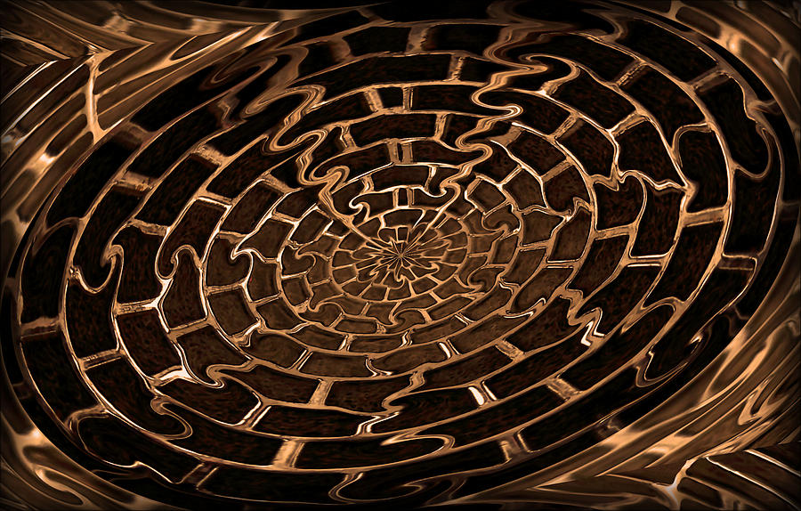 Copper Photograph - Complicated Journey by Kristin Elmquist