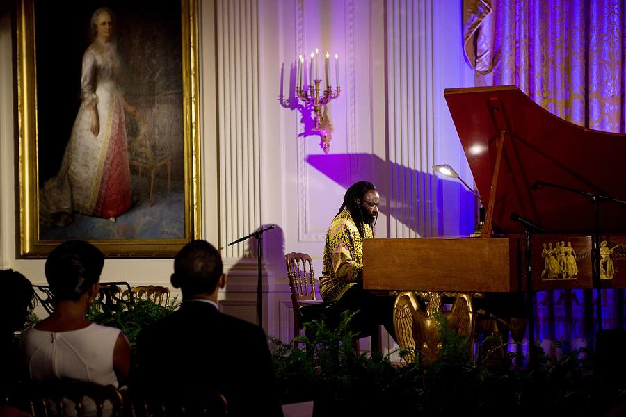 History Photograph - Concert Pianist Awadagin Pratt Performs by Everett