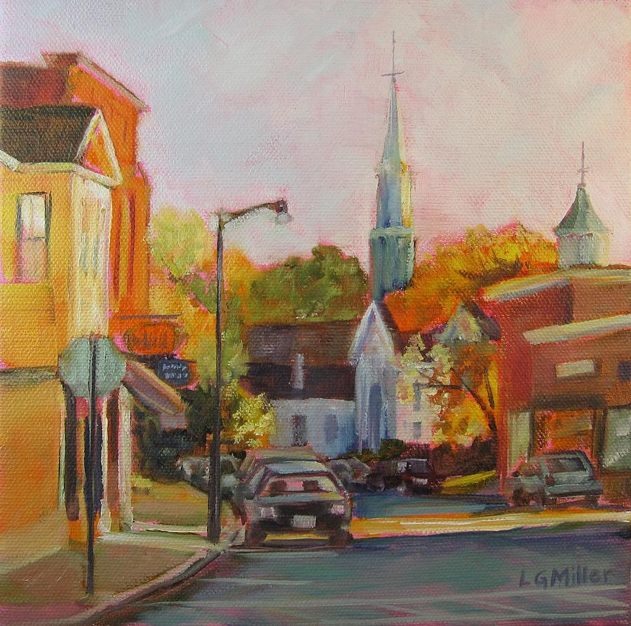 Concord Painting - Concord Afternoon by Laurie G Miller