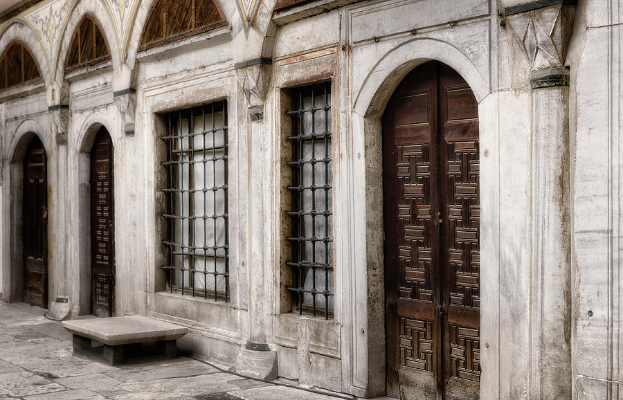 Ancient Photograph - Concubine  Court by Joan Carroll