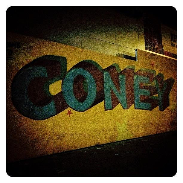 Streetart Photograph - Coney by Natasha Marco