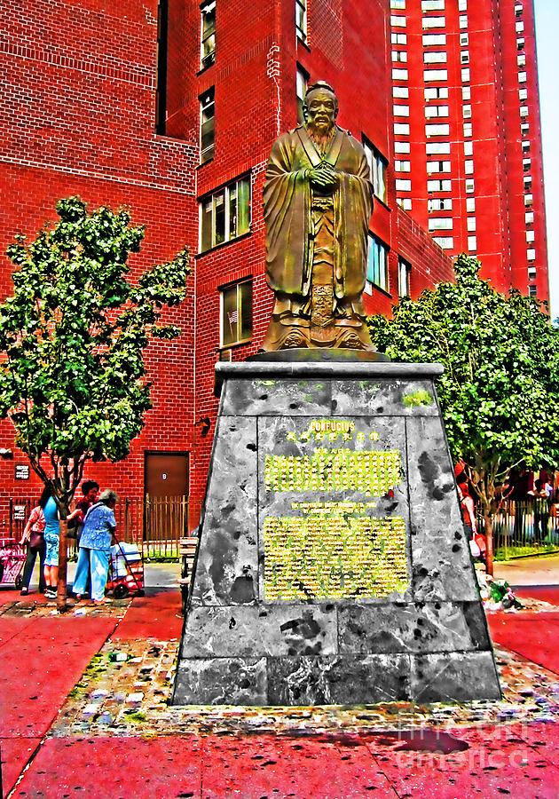 Confucius Photograph - Confucius by Anne Ferguson