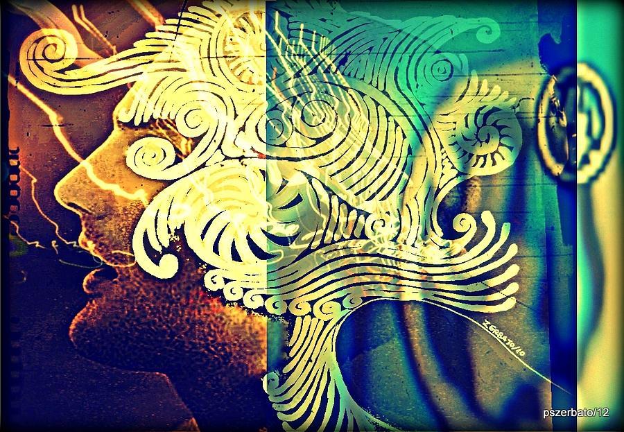 Life Digital Art - Confused Meanderings by Paulo Zerbato