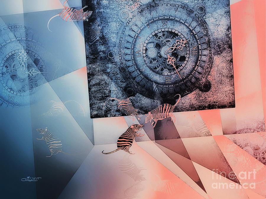 3d Digital Art - Confusion by Jutta Maria Pusl