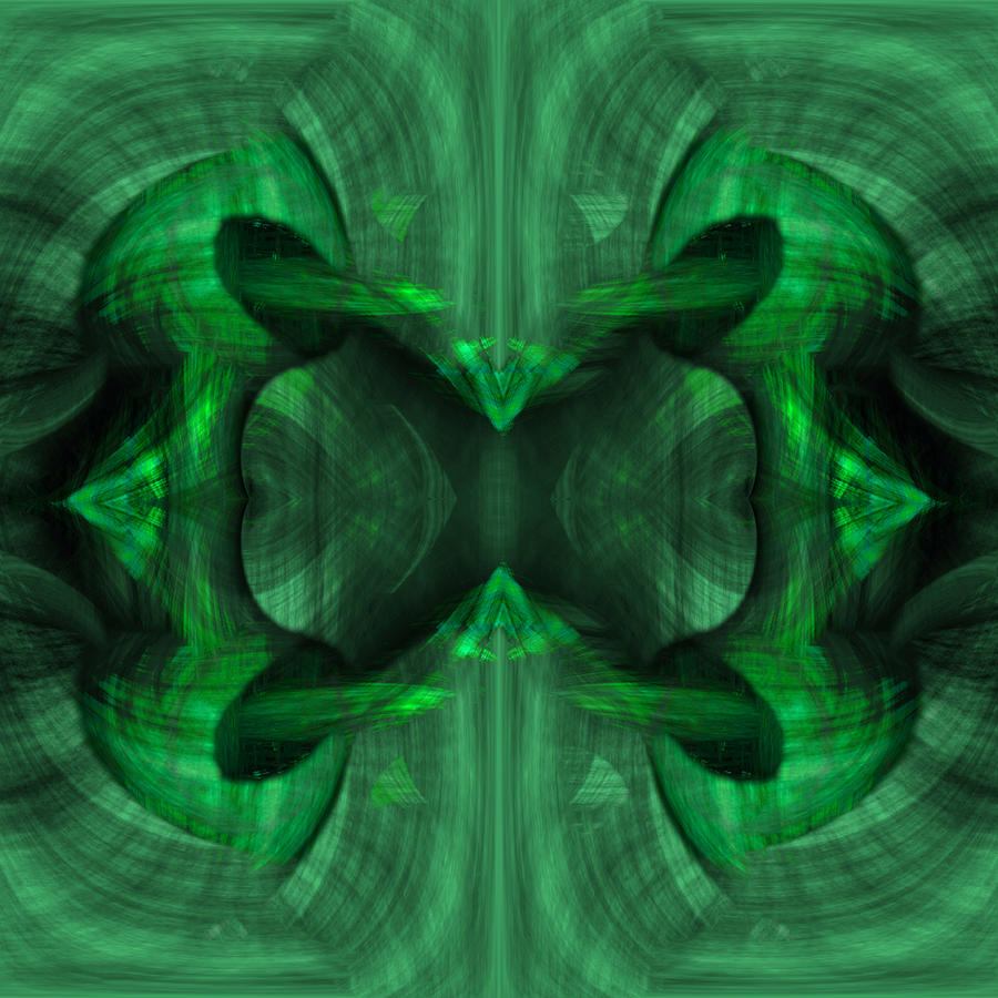 Conjoint Painting - Conjoint - Emerald by Christopher Gaston