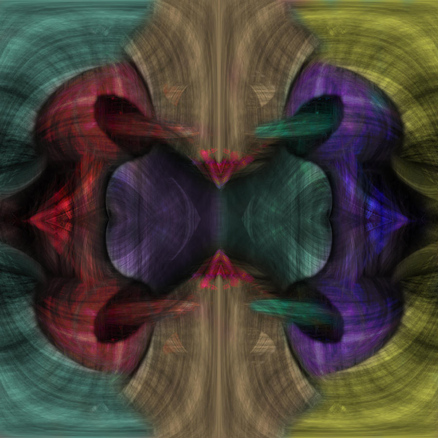 Conjoint Painting - Conjoint - Multicolor by Christopher Gaston