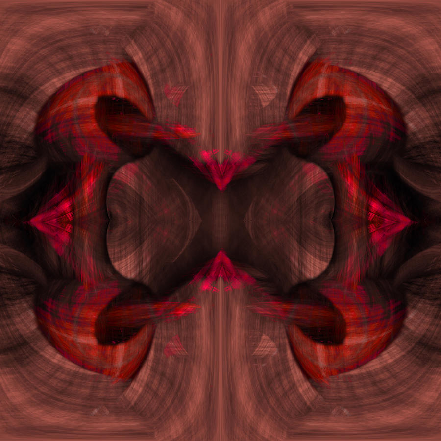 Conjoint Painting - Conjoint - Ruby by Christopher Gaston