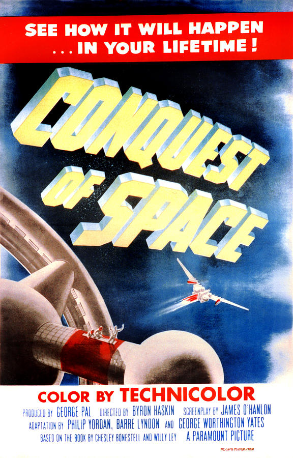 1950s Poster Art Photograph - Conquest Of Space, 1955 by Everett