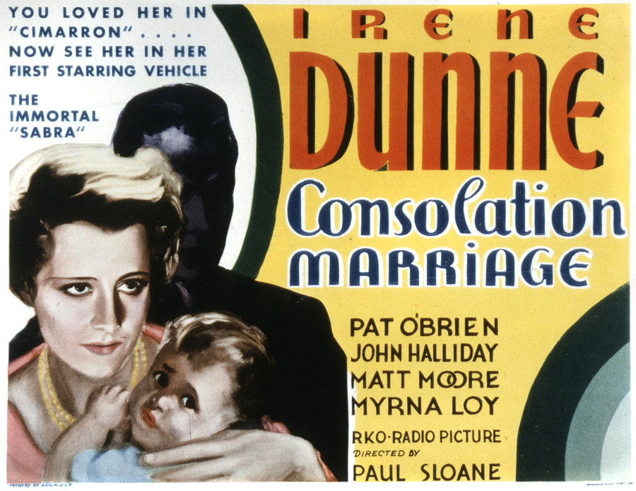 1930s Movies Photograph - Consolation Marriage, Irene Dunne by Everett