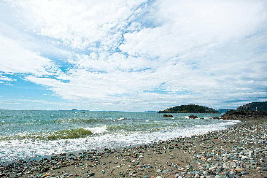 Rocky West Coast Beach Shore Photograph - Constant by Artist and Photographer Laura Wrede