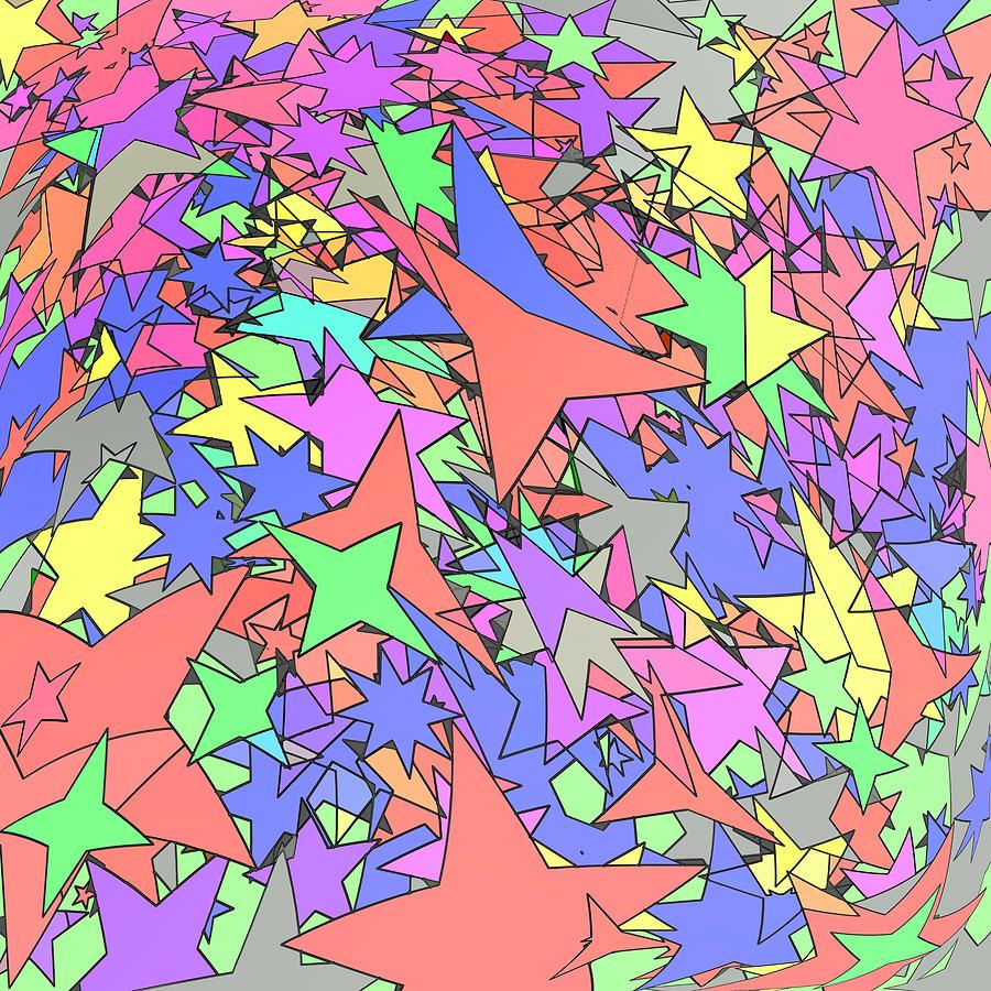 Pastel Digital Art - Constellation by Gregory Scott