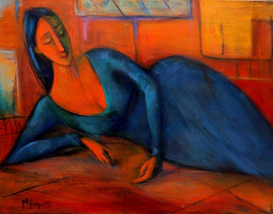 Venezuela Painting - Construe  by Marina R Burch