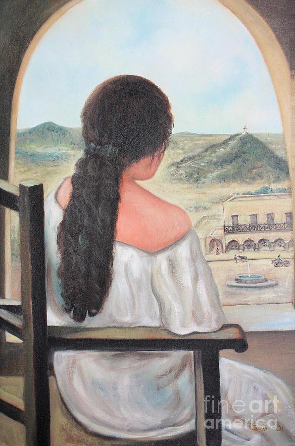 Contemplacion by Sonia Flores Ruiz