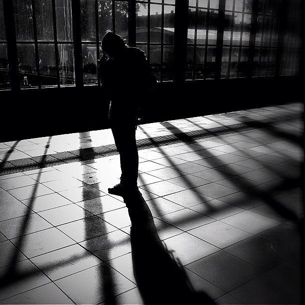 Blackandwhite Photograph - Contemplating by Robbert Ter Weijden
