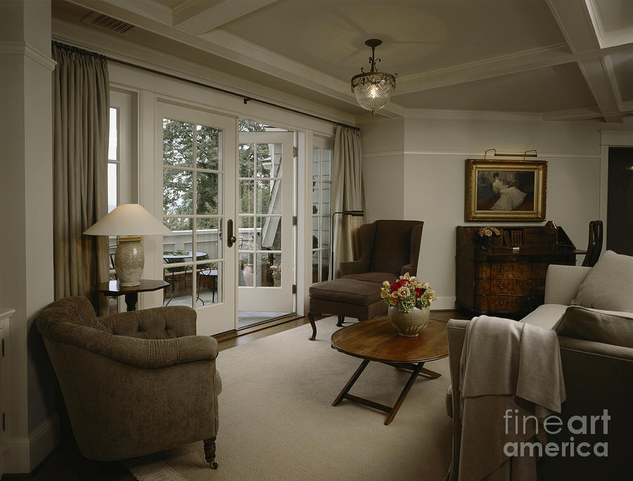Apartment Photograph - Contemporary Sitting Room by Robert Pisano