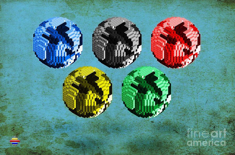 Continental Digital Art - Continental -1 by Vidka Art