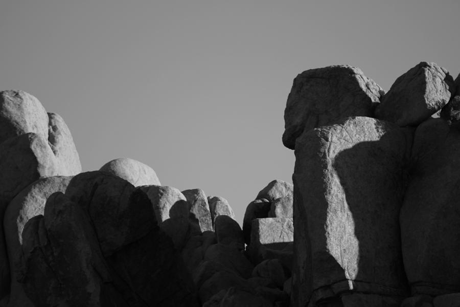Joshua Tree National Park Photograph - Contrast Stones  by Carolina Liechtenstein