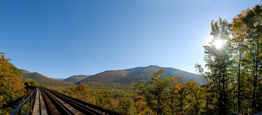 Conway Scenic Railroad Photograph - Conway Scenic Railroad - Short by Geoffrey Bolte