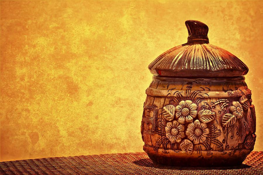 Jar Photograph - Cookie Cookie Jar Jar by Dmitriy Mirochnik