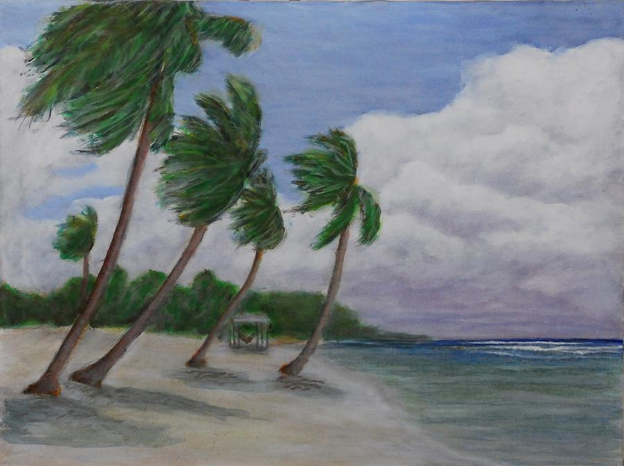 Cool Breeze On The Brac Painting by Monte Lee Thornton