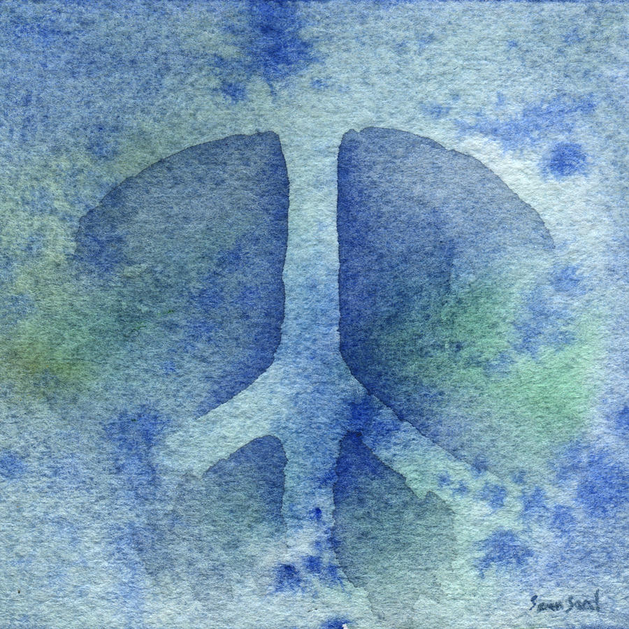 Peace Painting - Cool Peace by Sean Seal