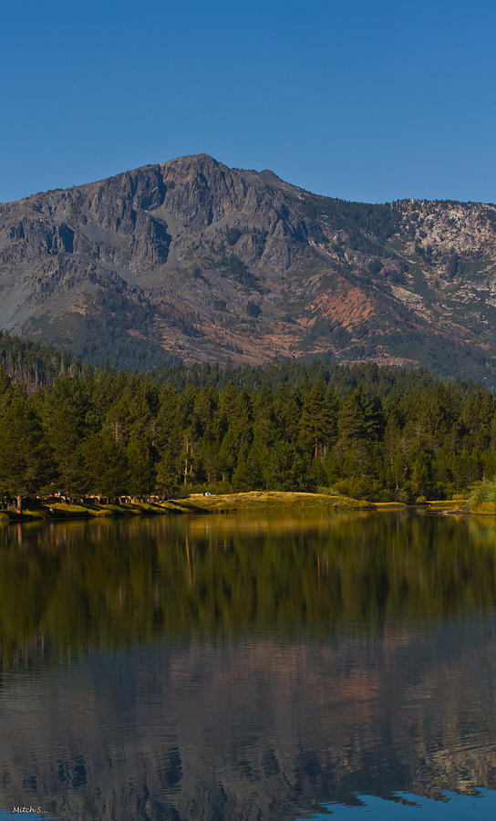 Mount Tallac Photograph - Cool September Days by Mitch Shindelbower