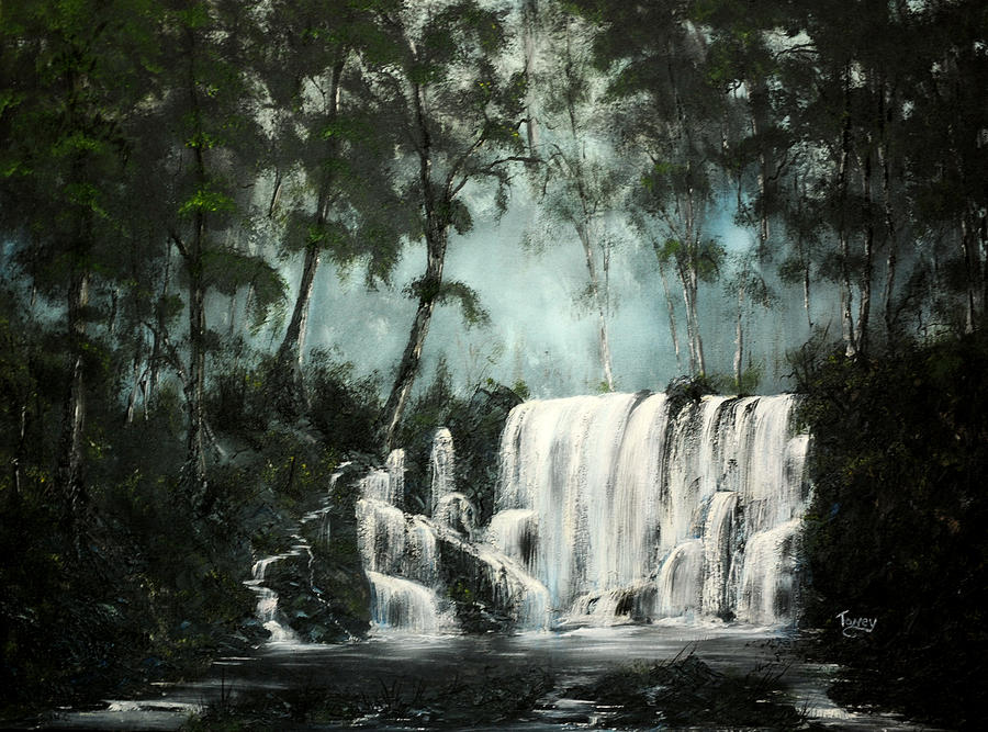 Landscape Painting - Cool Waters by Daniel Toney