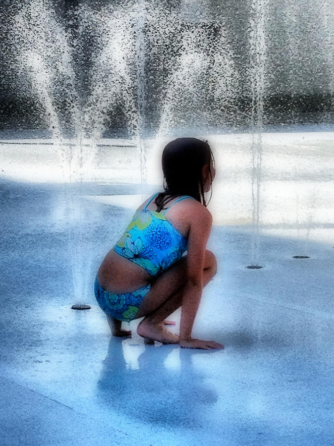 Water Photograph - Cooling Off by Jennifer Woodworth