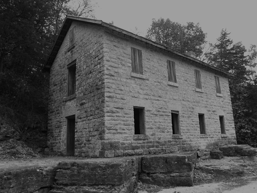 Cooperage Photograph - Cooperage Bw by Bonfire Photography
