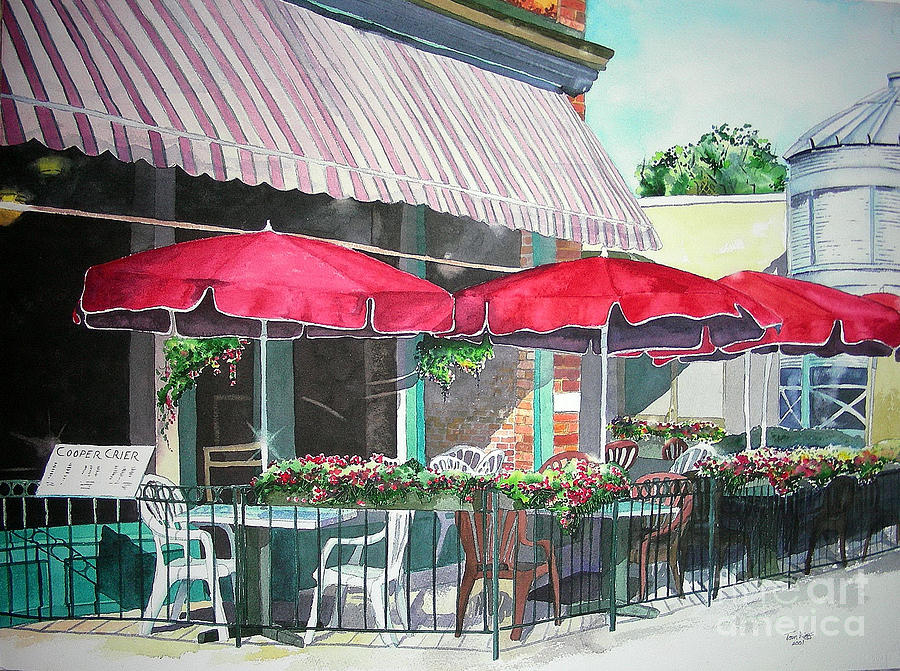Fort Collins Painting - Coopersmiths Pub by Tom Riggs