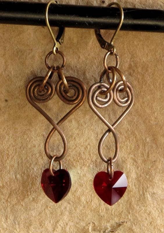 Jewelry Jewelry - Copperhearts by Jan Brieger-Scranton