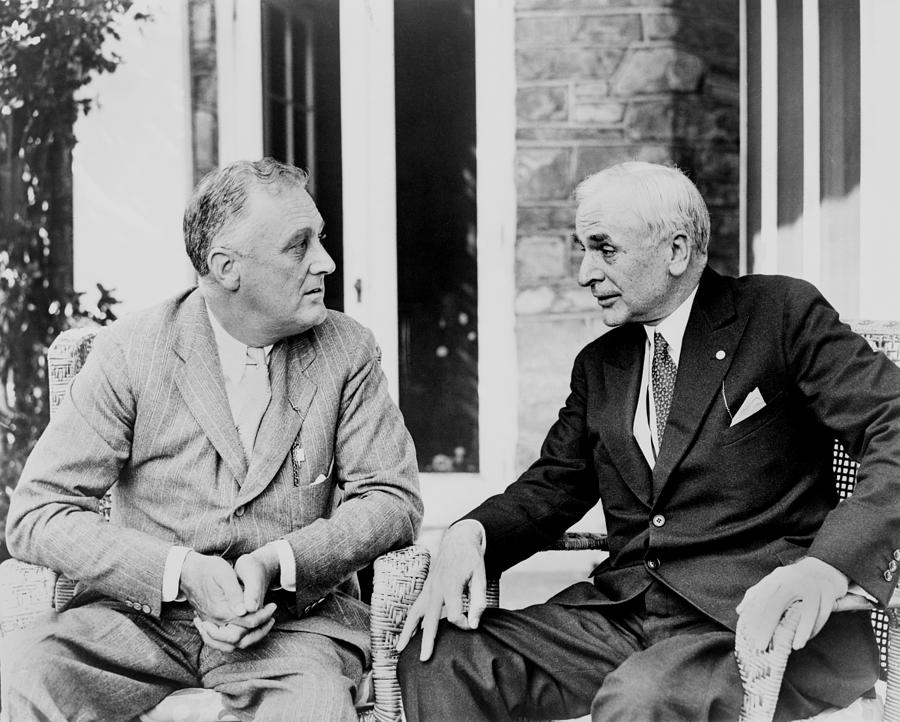 History Photograph - Cordell Hull 1871�1955, Served by Everett