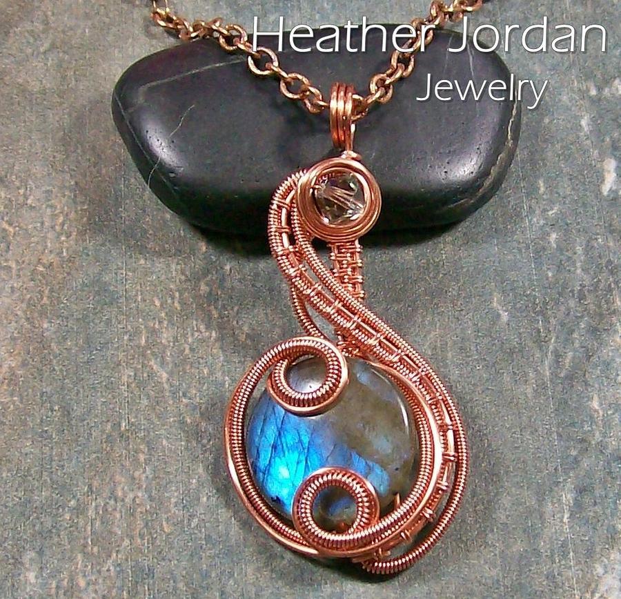 Wire Jewelry - Coriolis Pendant By Heather Jordan by Heather Jordan