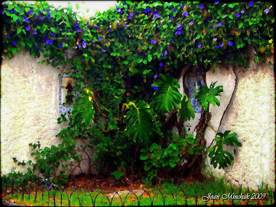 Botanical Photograph - Corner In Uruguay by Joan  Minchak