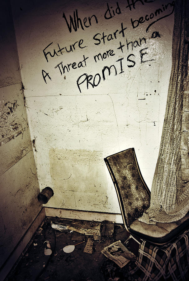 Old Photograph - Corner Of Threat  by Jerry Cordeiro