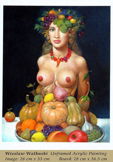 Cornucopia Painting - Cornucopia by Wieslaw Walkuski