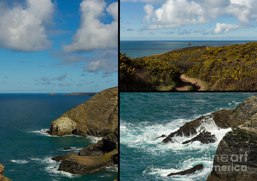 Landscape Photograph - Cornwall North Coast by Brian Roscorla