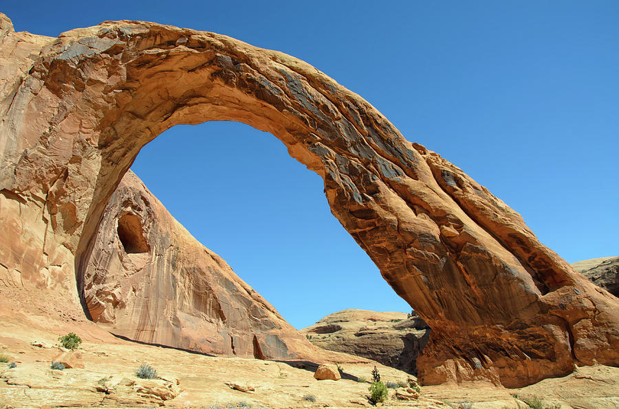 Horizontal Photograph - Corona Arch by Julie Rideout