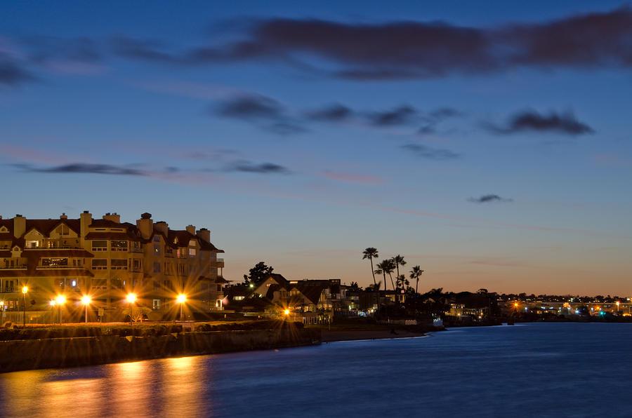 Coronado Island Photograph - Coronado Sunset by Margaret Pitcher